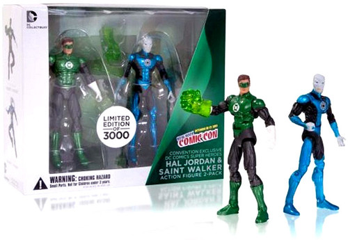 Green Lantern Hal Jordan & Saint Walker Exclusive Action Figure 2-Pack