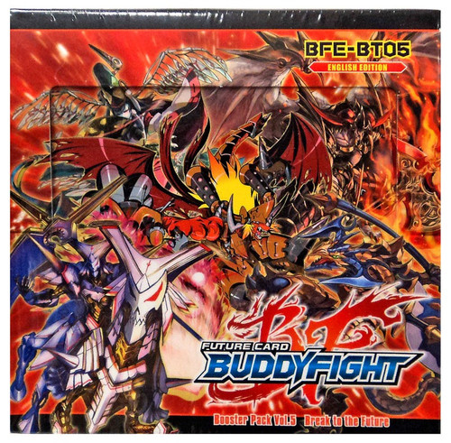 Future Card BuddyFight Trading Card Game Break to the Future Booster Box [30 Packs]