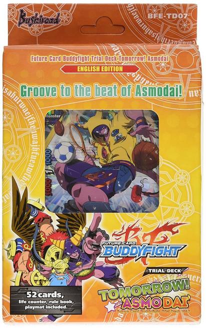 Future Card BuddyFight Trading Card Game Tomorrow Asmodai Trial Deck Trial Deck BFE-TD07