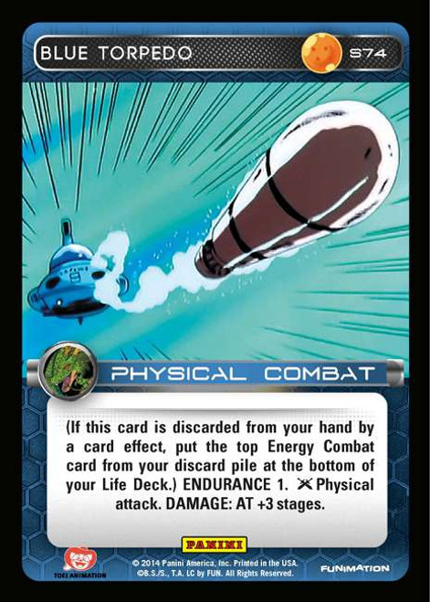 Dragon Ball Z CCG 2014 Starter Set Fixed Blue Torpedo S74