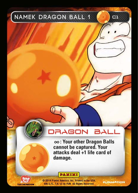 Dragon Ball Z CCG Set 1 Common Namek Dragon Ball 1 C1