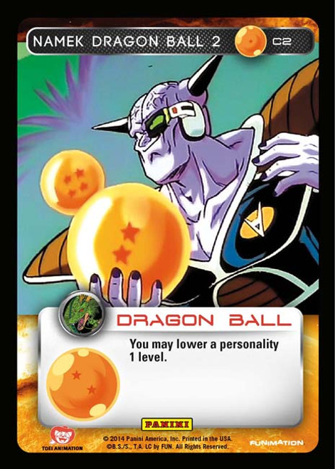 Dragon Ball Z CCG Set 1 Common Namek Dragon Ball 2 C2