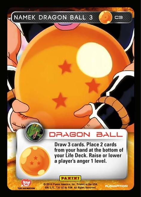 Dragon Ball Z Set 1 Common Namek Dragon Ball 3 C3