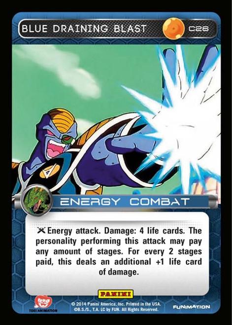 Dragon Ball Z Set 1 Common Blue Draining Blast C26