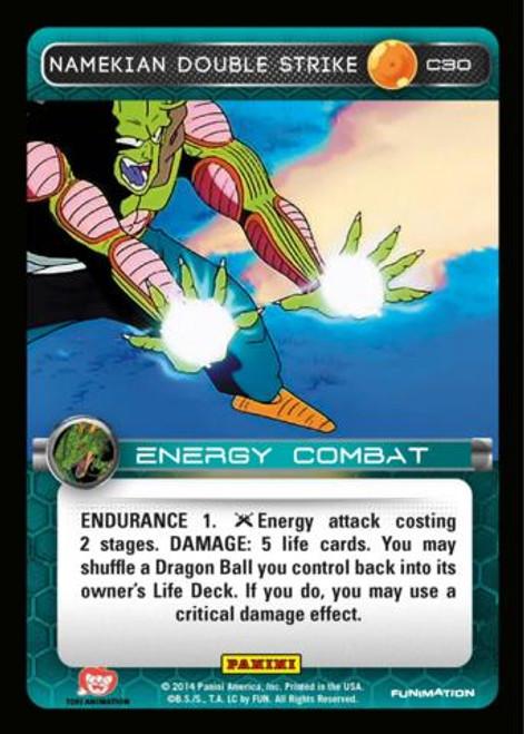 Dragon Ball Z CCG Set 1 Common Namekian Double Strike C30
