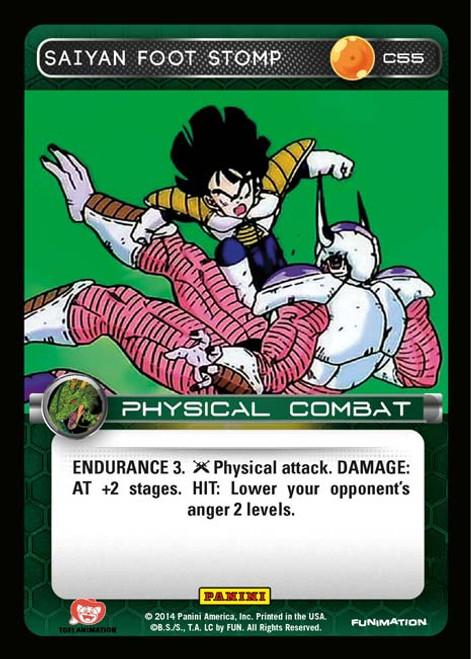 Dragon Ball Z CCG Set 1 Common Saiyan Foot Stomp C55