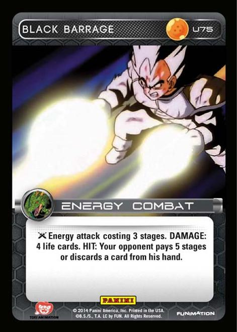 Dragon Ball Z Set 1 Uncommon Black Barrage U75