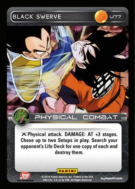 Dragon Ball Z Set 1 Uncommon Black Swerve U77