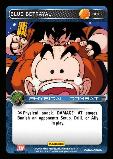 Dragon Ball Z CCG Set 1 Uncommon Blue Betrayal U80