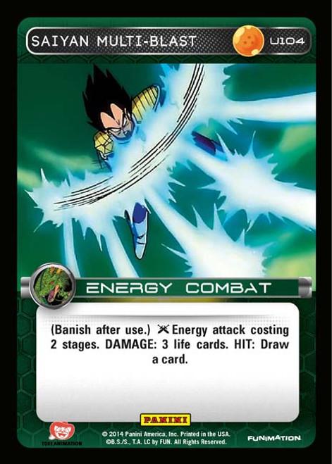 Dragon Ball Z Set 1 Uncommon Saiyan Multi-blast U104