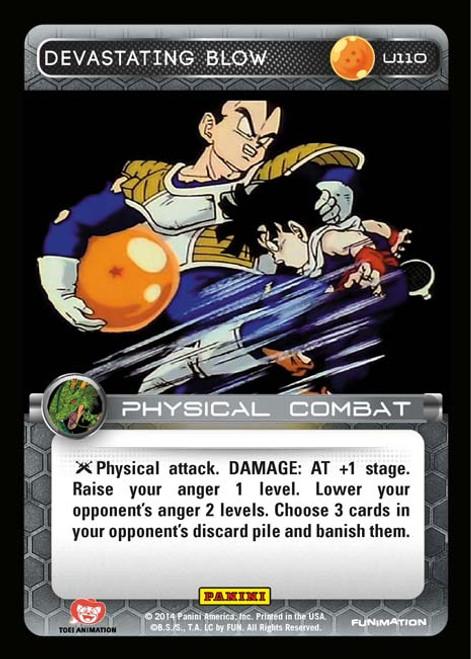 Dragon Ball Z CCG Set 1 Uncommon Devastating Blow U110