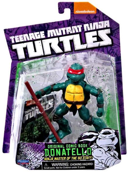 Teenage Mutant Ninja Turtles Nickelodeon Donatello Action FIgure [Original Comic Book]