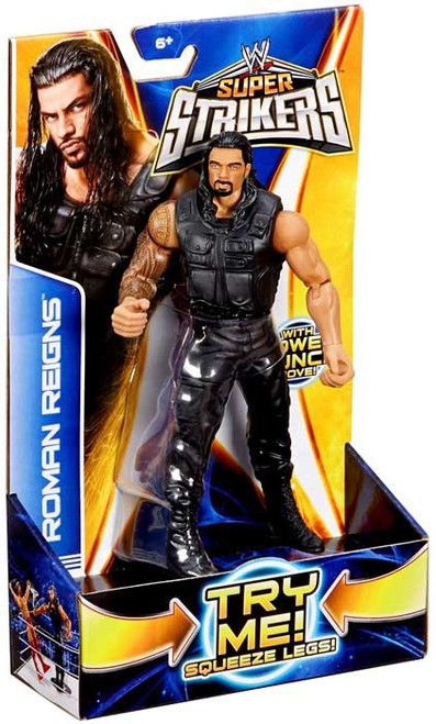 WWE Wrestling Super Strikers Roman Reigns Action Figure