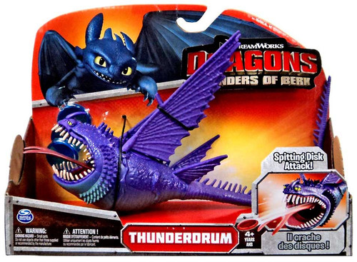 How to Train Your Dragon Defenders of Berk Thunderdrum Action Figure [Purple]
