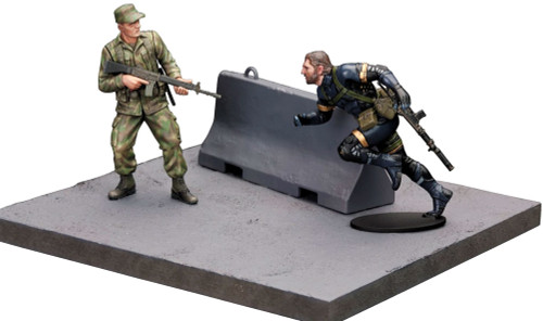 Metal Gear Solid Ground Zero Plastic Model Kit