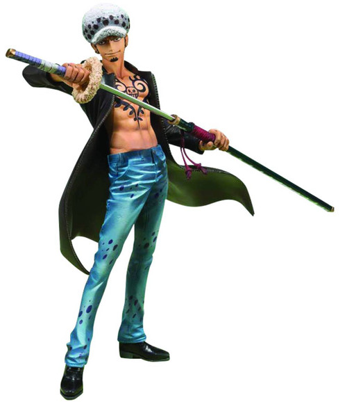 One Piece Figuarts Zero Trafalgar Law Collectible Figure [Dressrosa Arc]