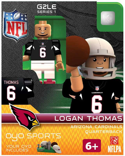 Arizona Cardinals NFL Generation 2 Series 1 Logan Thomas Minifigure
