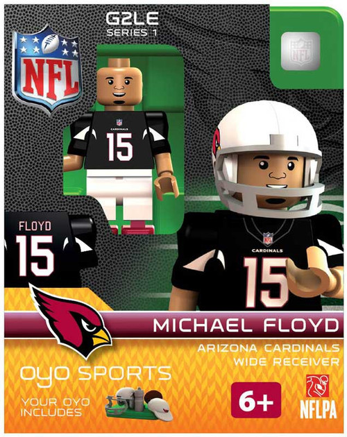 Arizona Cardinals NFL Generation 2 Series 1 Michael Floyd Minifigure