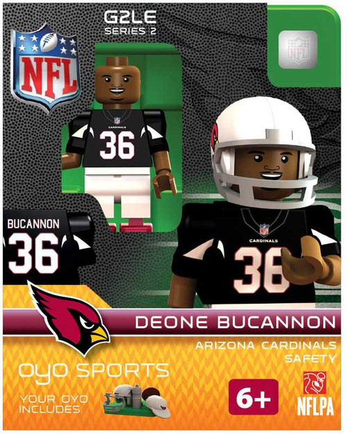 Arizona Cardinals NFL Generation 2 Series 2 Deone Bucannon Minifigure