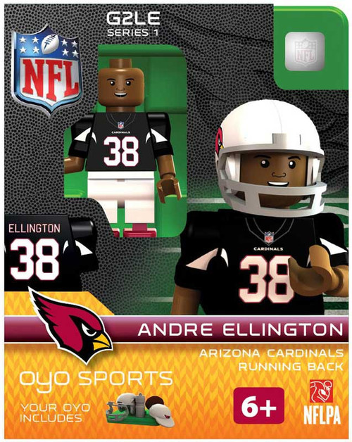 Arizona Cardinals NFL Generation 2 Series 1 Andre Ellington Minifigure