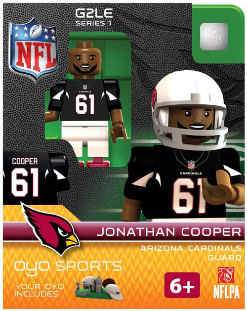 Arizona Cardinals NFL Generation 2 Series 1 Jonathan Cooper Minifigure