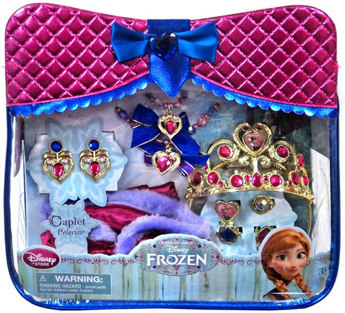 Disney Frozen Anna 10 Piece Accessory Set Exclusive