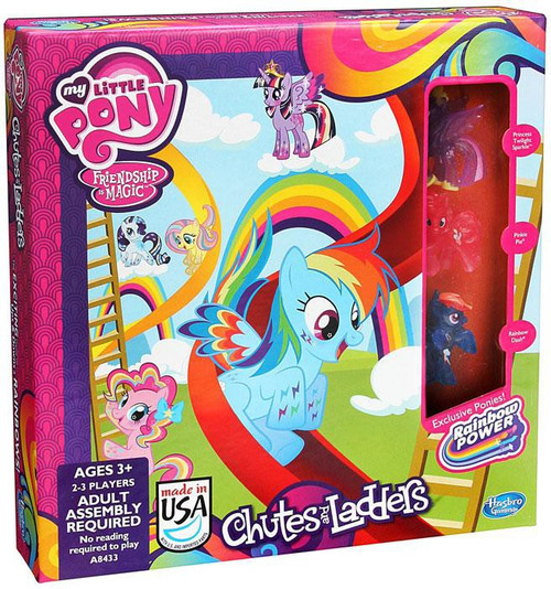 My Little Pony Games Chutes & Ladders Exclusive Board Game