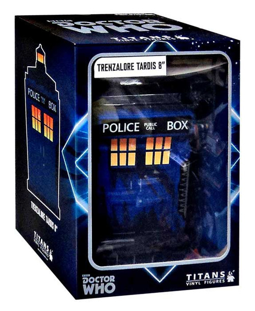 Doctor Who Titans Trenzalore Tardis Exclusive 8-Inch Vinyl Figure