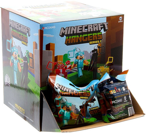 Minecraft Hangers Series 2 Mystery Box [24 Packs]