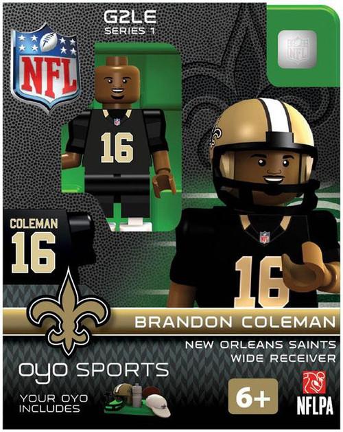 New Orleans Saints NFL Generation 2 Series 1 Brandon Coleman Minifigure