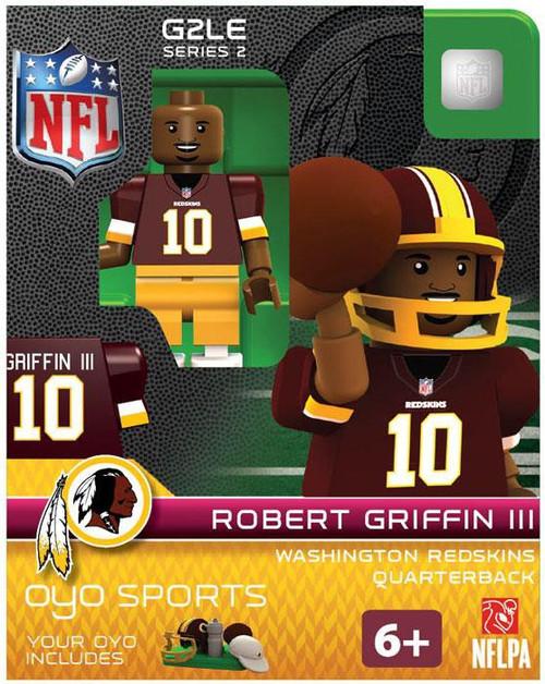 Washington Redskins NFL Generation 2 Series 2 Robert Griffin III Minifigure