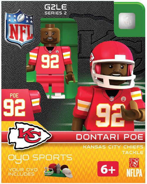 Kansas City Chiefs NFL Generation 2 Series 2 Dontari Poe Minifigure