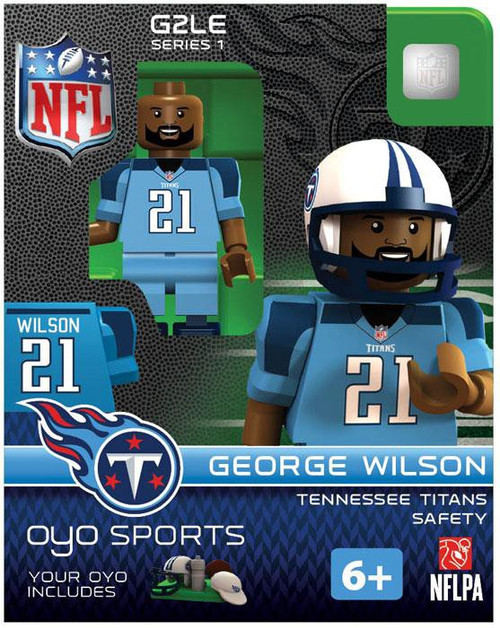 Tennessee Titans NFL Generation 2 Series 1 George Wilson Minifigure