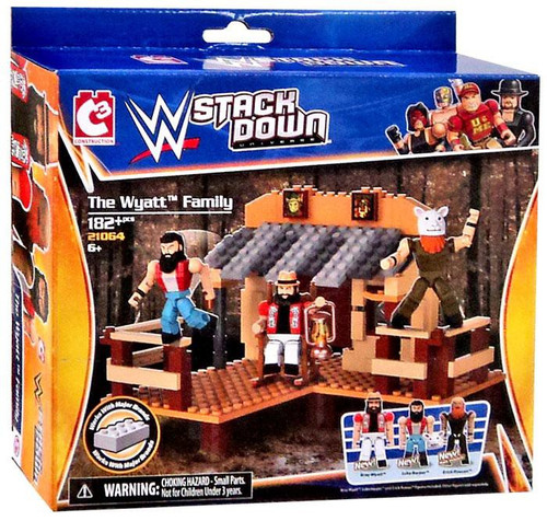 WWE Wrestling C3 Construction StackDown The Wyatt Family Exclusive Playset #21064