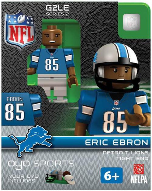 Detroit Lions NFL Generation 2 Series 2 Eric Ebron Minifigure