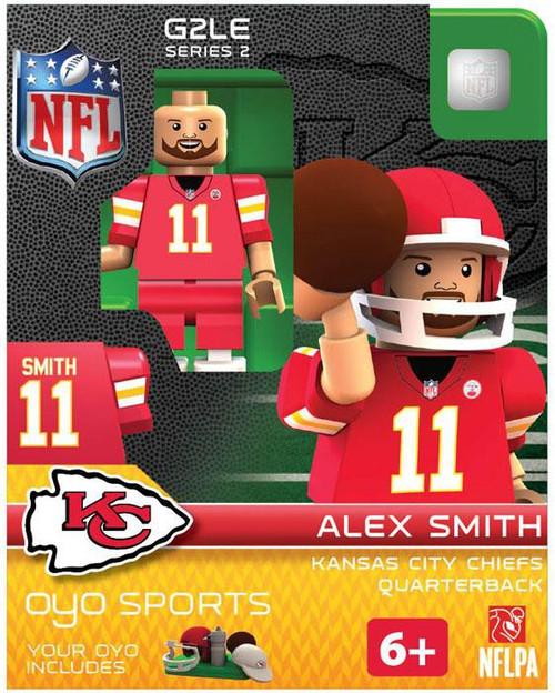 Kansas City Chiefs NFL Generation 2 Series 2 Alex Smith Minifigure