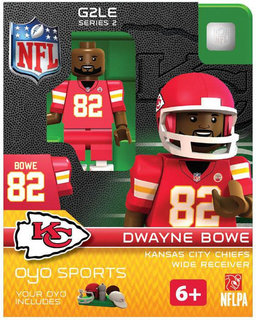 Kansas City Chiefs NFL Generation 2 Series 2 Dwayne Bowe Minifigure