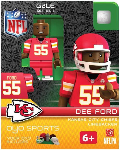Kansas City Chiefs NFL Generation 2 Series 2 Dee Ford Minifigure