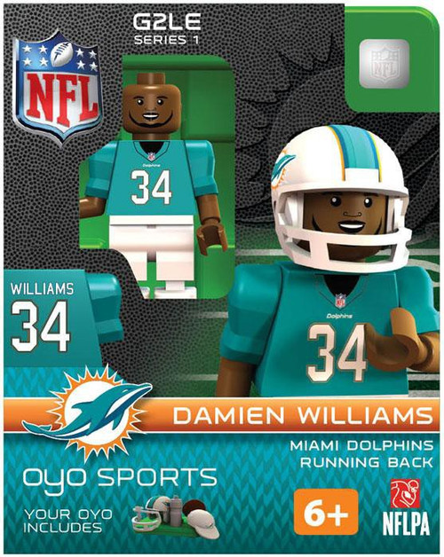 Miami Dolphins NFL Generation 2 Series 1 Damien Williams Minifigure