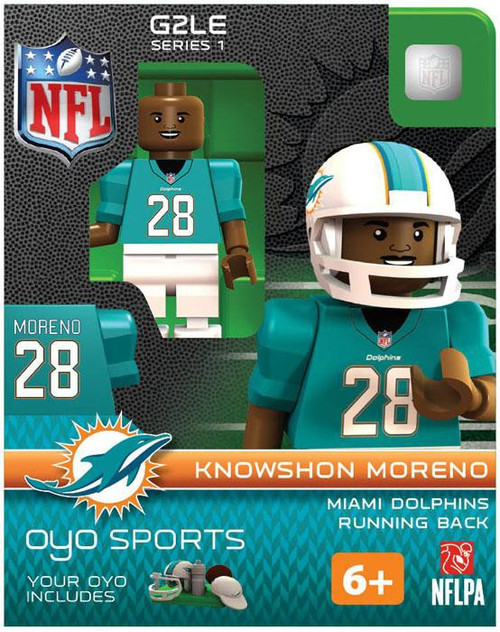 Miami Dolphins NFL Generation 2 Series 1 Knowshon Moreno Minifigure