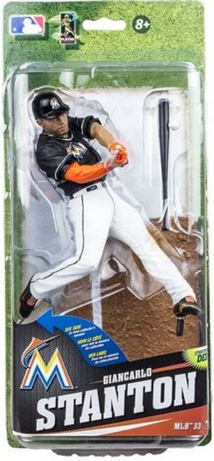 McFarlane Toys MLB Miami Marlins Sports Picks Series 33 Giancarlo Stanton Action Figure
