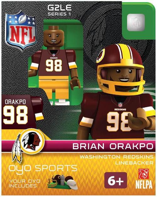Washington Redskins NFL Generation 2 Series 1 Brian Orakpo Minifigure