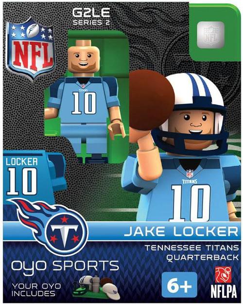 Tennessee Titans NFL Generation 2 Series 2 Jake Locker Minifigure