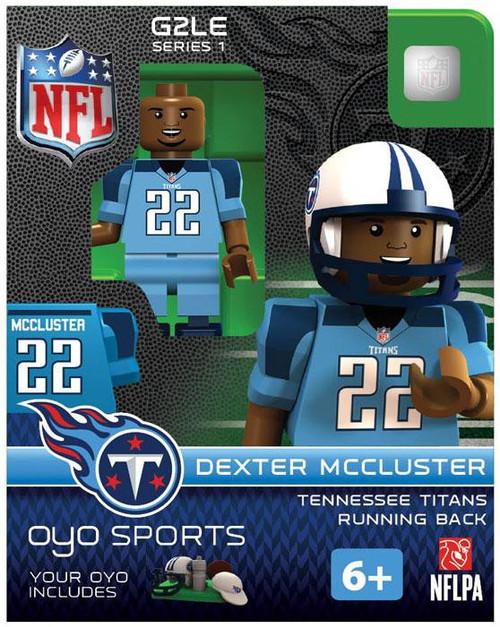 Tennessee Titans NFL Generation 2 Series 1 Dexter Mccluster Minifigure