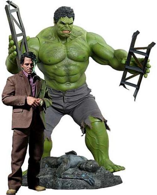 Marvel Avengers Movie Masterpiece Bruce Banner & Hulk Collectible Figure