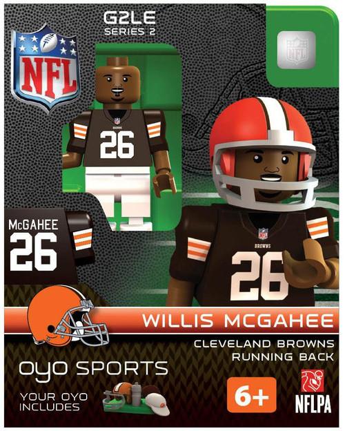 Cleveland Browns NFL Generation 2 Series 2 Willis McGahee Minifigure