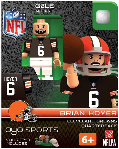 Cleveland Browns NFL Generation 2 Series 1 Brian Hoyer Minifigure
