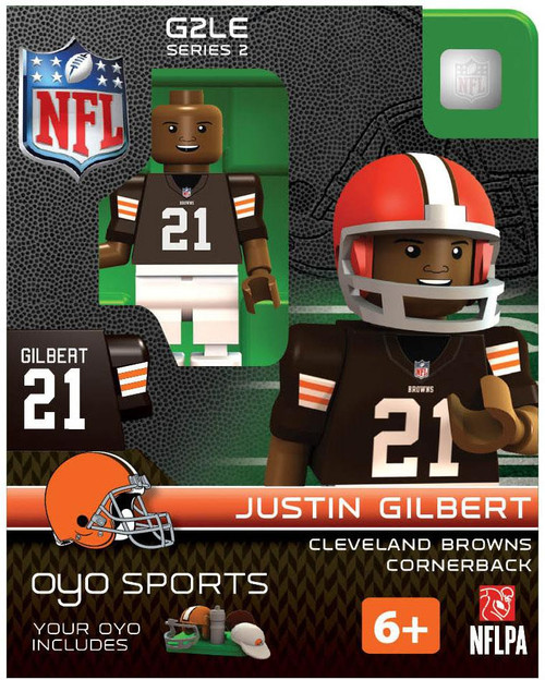 Cleveland Browns NFL Generation 2 Series 2 Justin Gilbert Minifigure