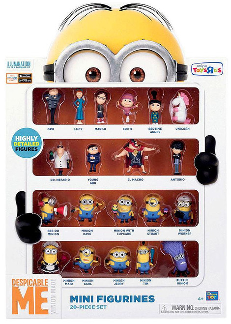 Despicable Me Minion Made Mini Figurines 20-Piece Set Exclusive 2-Inch