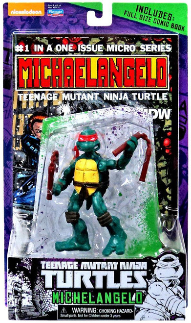 Teenage Mutant Ninja Turtles Nickelodeon Michelangelo Action FIgure [Comic Book]